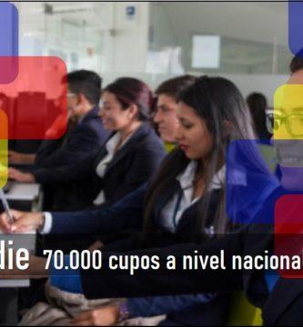 70.000 mil cupos