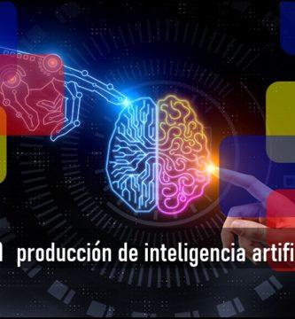 producción de inteligencia artificial